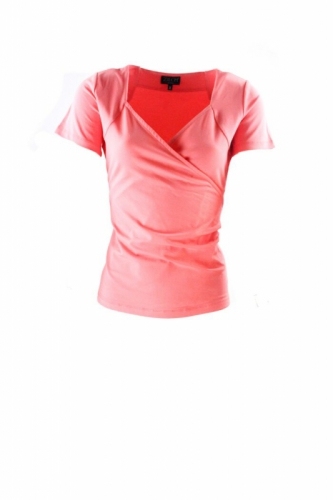 Zilch Cross Top Coral