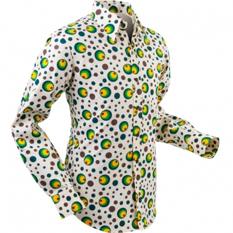 Flabbergasted Dots & Spots - green
