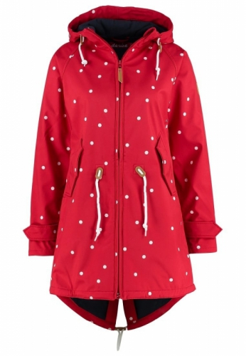 Derbe Island Friese Dots Red