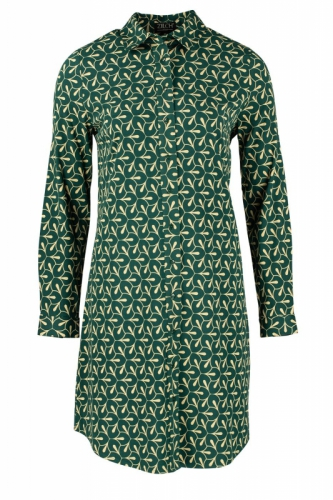 Zilch Dress Polo Petals Forest