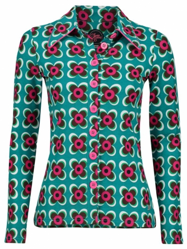 Tante Betsy Blouse Retro Green