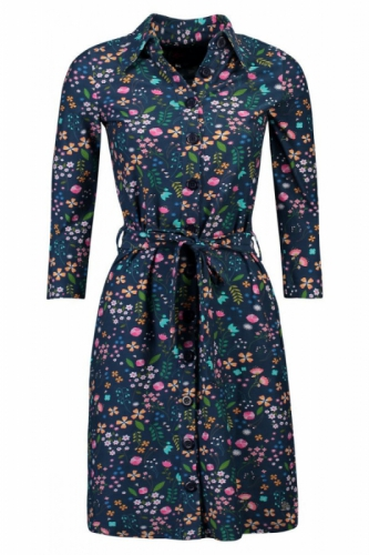 Tante Betsy Shirt Dress Lovely Navy