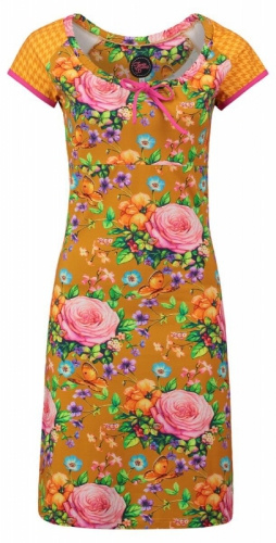 Tante Betsy Dress Carmen Butterfly en Roses Gold