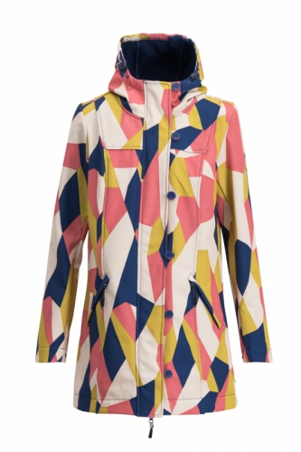 Blutgeschwister Wild Weather Long Anorak Great Graphic