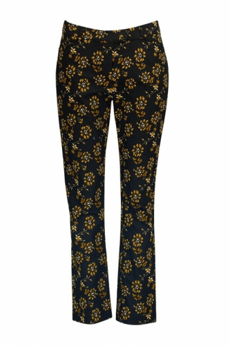Zilch Bloom Mustard Pants