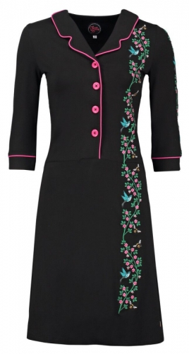 Tante Betsy Dress Typ Miep Hummingbird Black