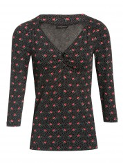 Vive Maria Sugar Rose Shirt Black