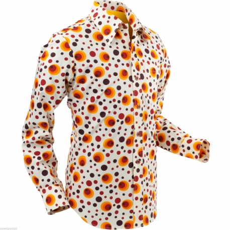 flabbergasted dots&spots orange