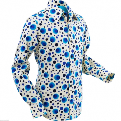 Flabbergasted Dots & Spots Blue