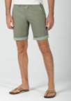 Timezone Shorts Slim Janno Green Micro Point