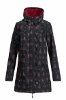 Blutgeschwister Wild Weather Long Anorak Red Hood