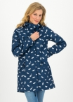 Blutgeschwister Wild Weather Long Anorak Bonnies Ocean