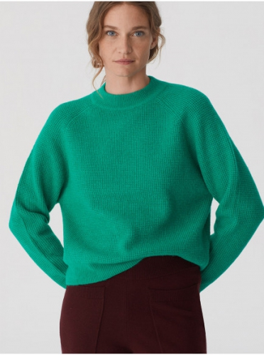 Nice Things Jersey Manga Raglan Oversize Sweater Groen
