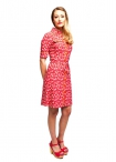 Tante Betsy Dress Edelweiss Red