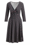 Blutgeschwister Cold days Knot Robe Super Cherry Dot