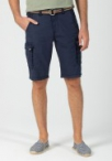 Timezone Shorts Loose Maguire Washed Donkerblauw