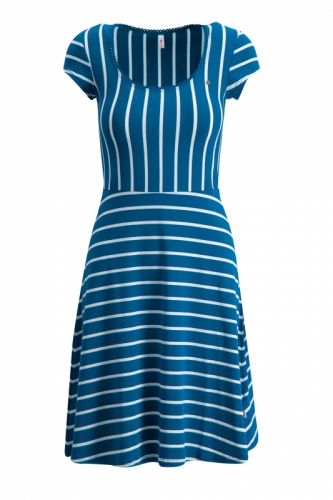 Blutgeschwister Logo stripe Dress free stripe