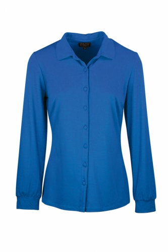Zilch blouse Blue Disco