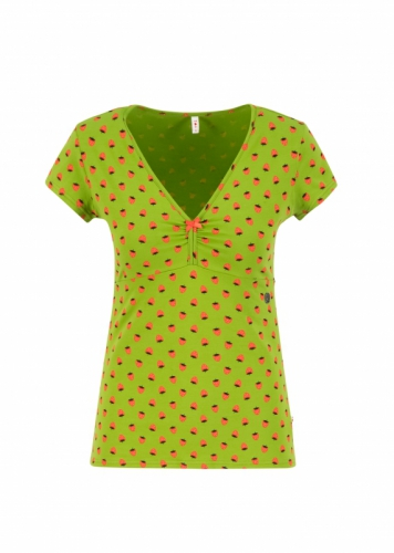 Blutgeschwister Mon Coeur Tee/Top Strawberry Source