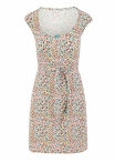 Blutgeschwister Flamingo Bingo Dress Fine Flower