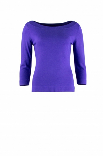 Zilch Sweater Boatneck Royal Blue